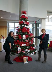Royal LePage Christmas Tree for the Festival of Trees 2016, Frank Venables Auditorium
